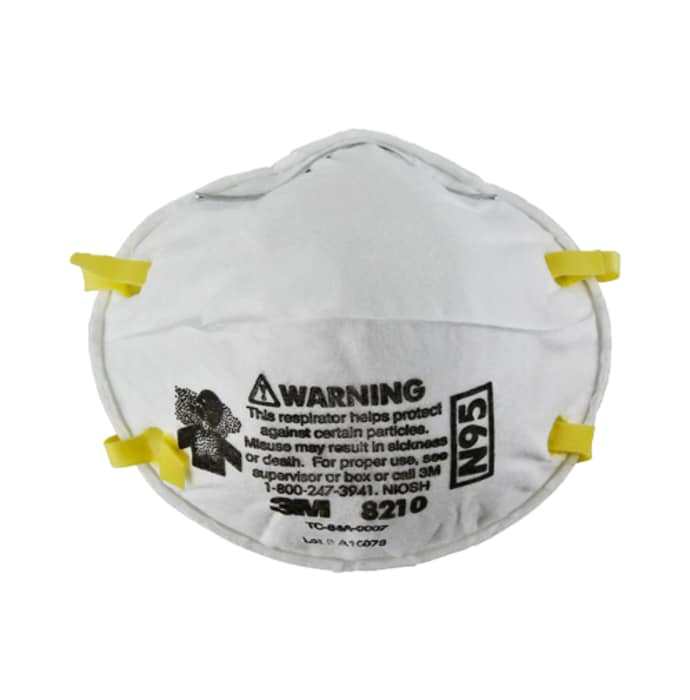 3m 8210 particulate respirator mask (pack of 10)