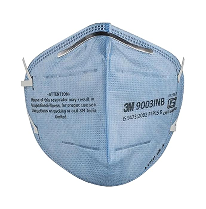 3m 9003inp p1 bis particulate respirator mask blue pack of 5
