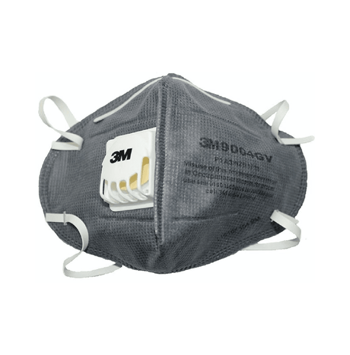 3m 9004gv particulate respirator mask pack of 3