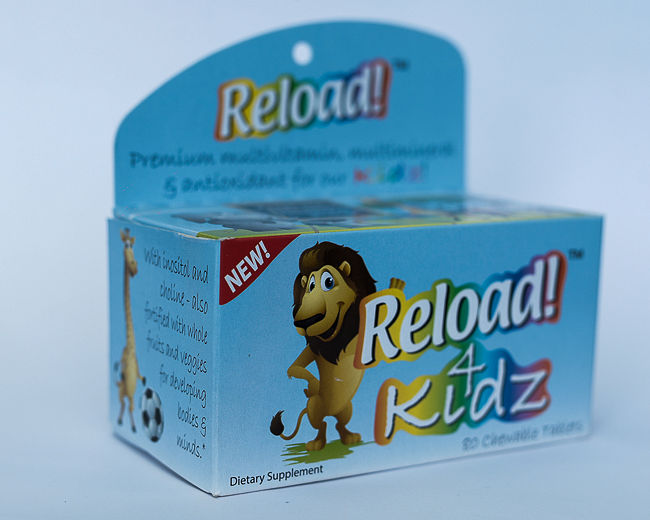 RELOAD FOR KIDS CHEWABLE x 80