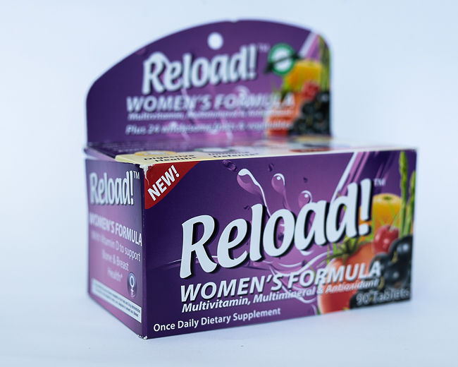 RELOAD FOR WOMEN x 30